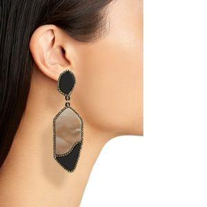 NWT Leith Resin Drop Earrings